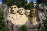 Mount Rushmore at Legoland, Billund