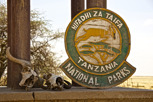 Serengeti National Park entrance