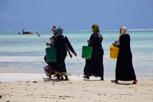 Local fisherwomen, Zanzibar