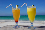 Drinks at the beach, Zanzibar