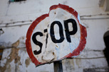 Stop sign, Stonetown