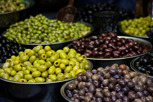 Olives at Carmel Market, Tel Aviv