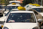 Taxis in Tel Aviv