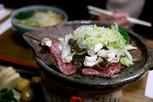 Local beef dish, Takayama