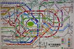 Subway map, Tokyo