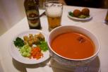 Israeli tomato soup