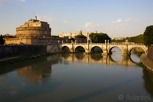 Castel Sant'Angelo and Tiber river, Rome