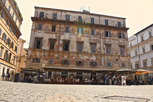 Timeworn building, Rome