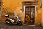 Alley in Trastevere, Rome