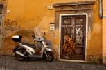 Alley in Trastevere, Rome