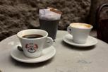 Caffe Americano and Cappucino