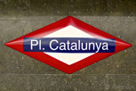 Placa Catalunya subway station