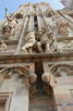 Closeup of Duomo di Milano