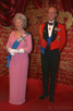 Queen Elizabeth II and Prince Philip at Madame Tussauds