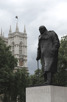 Statue of Winston Churchill, London