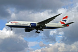 British Airways Boeing 777-200 at London/Heathrow