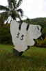 Road 33 at Moorea, Tahiti