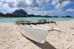 Romantic outrigger va'a, Bore Bora
