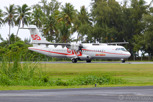 Air Tahiti ATR 72 at Moorea Airport
