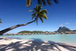 Overwater bungalows at Bora Bora Pearl Beach Resort, Bora Bora