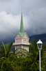 The old church at Papeete, Tahiti