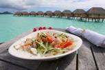 The national dish of Tahiti - Poisson cru