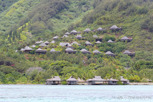 Overwater and mountain bungalows, Moorea