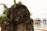 Traditional Tahitian sculpture, Moorea