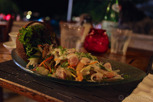 Posion cru - local tahitian dish