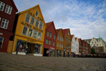 Old houses at Bryggen, Bergen