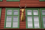 Old tree house at Bryggen, Bergen