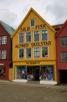 Alfred Skulstad tree house at Bryggen, Bergen