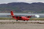 Air Greenland De Havilland Dash 7 at Narsarsuaq, Greenland