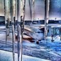 Winter conditions at Stockholm/Arlanda domestic terminal