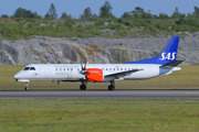 Saab 2000 operated in SAS livery by Braathens Regional