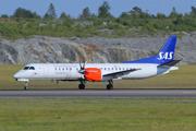 Saab 2000 operated in SAS livery by Braathens Regional