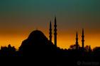 The Süleymaniye Mosque, Istanbul