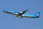 The beautiful paradise airline of Air Tahiti Nui and its Airbus A340-300