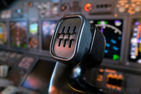 The Boeing 737 control wheel