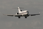 A classic Boeing 727-200 seldom sight nowadays