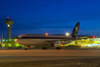 An UPS Airbus A300 freighter ready for another night flight