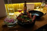 Norwegian kingcrab dish