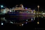 Lysefjord sightseeing boat docked for the night, Stavanger