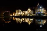 Skagenkaien during darkness, Stavanger