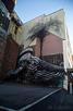 Humpback whale street art, Stavanger