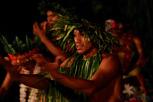 Tahitian dance performer, Bora Bora