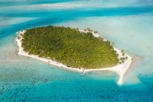 Beautiful green island, Bora Bora