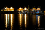 The idyllic harbor in Bodo