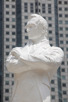 Sir Thomas Stamford Raffles statue at Singapore River