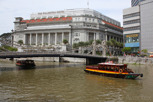 The Fullerton Hotel at Singapore River